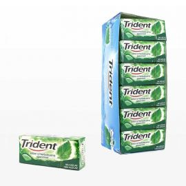 Chicles Trident de Hierba Buena Fresh 24 paquetes