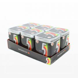 Chicles Five Cubo de Sandia 6 paquetes