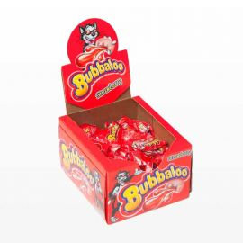 Chicles Bubbaloo Strawberry 60 uds