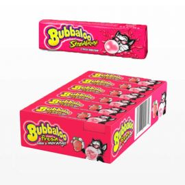 Chicles Bubbaloo Stick de Fresa 18 paquetes