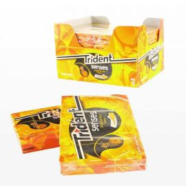 Chicles Trident Senses Tropical 12 paquetes