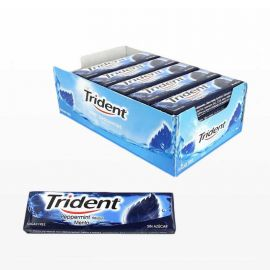 Chicles Trident Stick Menta 24 paquetes