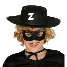 Sombrero de Bandido Infantil de Fieltro