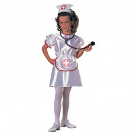Disfraz de Enfermera Blanco Infantil