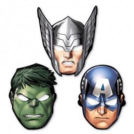 8 Máscaras Los Vengadores