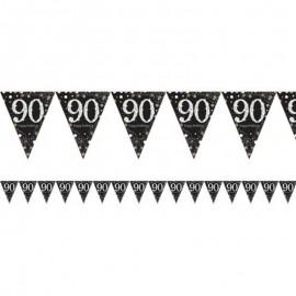 Banderín 90 Años Elegant