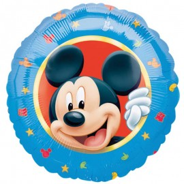 Globo Mickey Mouse Foil Redondo