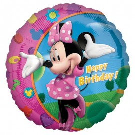 Globo Minnie Happy Birthday Foil