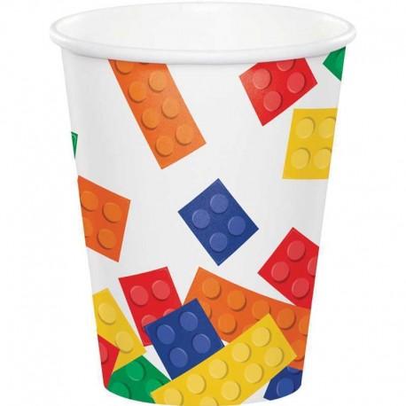 8 Vasos Lego