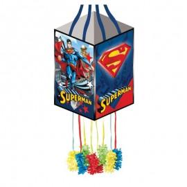 Piñata Superman Cuadrada