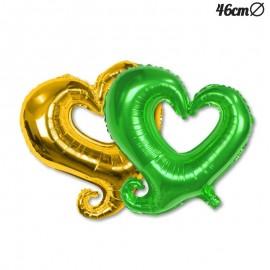 Globo Foil Forma Corazón 46 cm