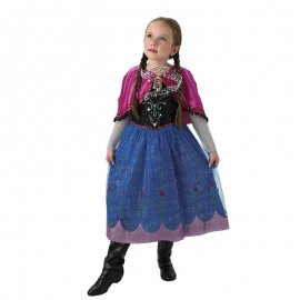 Disfraz de Anna de Frozen con Música Infantil