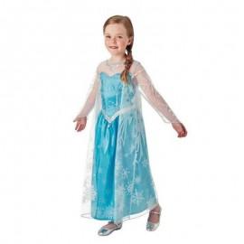 Disfraz de Elsa de Frozen con Capa Larga Infantil
