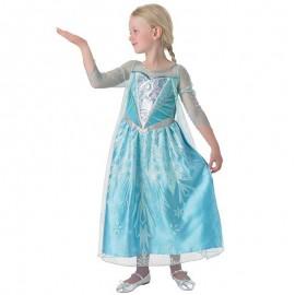 Vestido Frozen Brillante Infantil