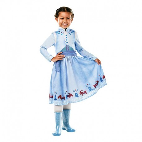 Disfraz de Anna de Frozen de Invierno para Niños