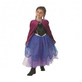 Disfraz Anna de Frozen con Capa Larga Infantil