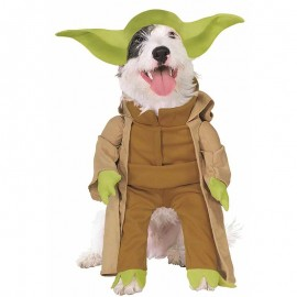 Disfraz de Yoda de Lujo para Mascota