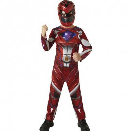 Disfraz de Power Ranger Rojo Clásico Infantil