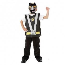 Set de acción Power Ranger Negro