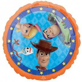 Globo Redondo Foil Toy Story 4