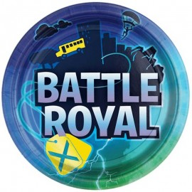 8 Platos Battle Royal 22.8 cm