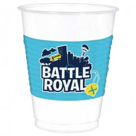 8 Vasos Fortnite 473 ml