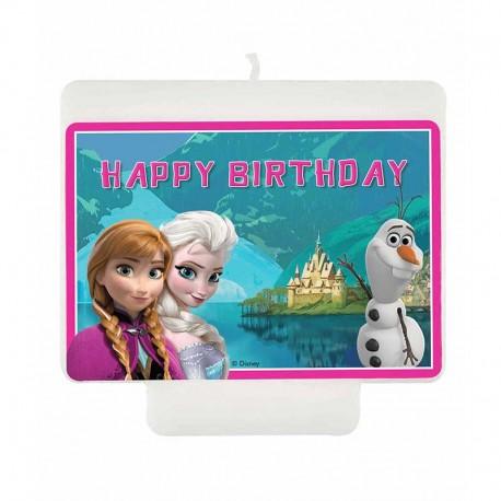 Velas Happy Birthday Frozen Northern Lights