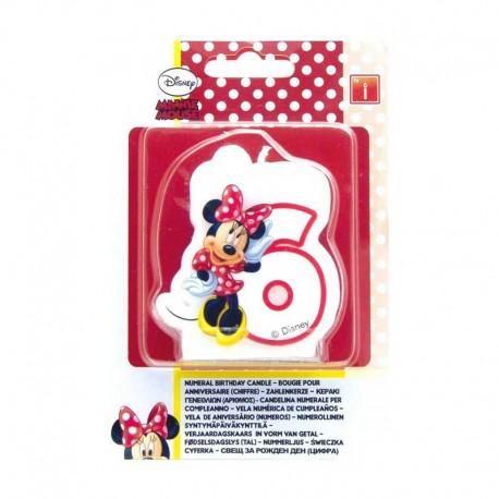 Vela nº6 Minnie Mouse