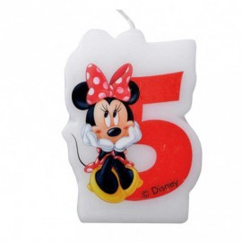 Vela nº5 Minnie Mouse