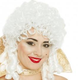Peluca de María Antonieta Blanca