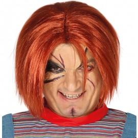 Peluca de Muñeco Asesino Chucky