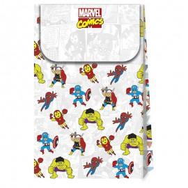 6 Bolsas Avengers Comic de Papel