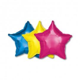Globo forma Estrella Foil 48 cm