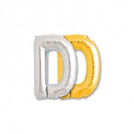Globo Letra D Foil 86 cm