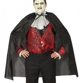 Capa Negra Vampiro 140 cm