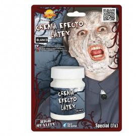 Crema Efecto Látex 30 ml Blanca