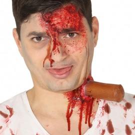 Cicatriz Estáca con Adhesivo Líquido Látex