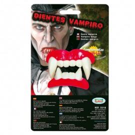 Dientes Vampiro Colmillos Grandes