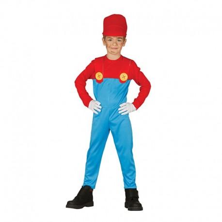 Disfraz Maquinista De Tren Infantil