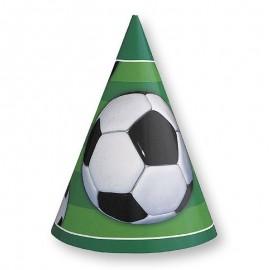 8 Gorros Fútbol forma Cono