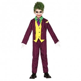 Disfraz Crazy Villain Infantil