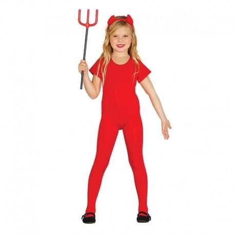 Disfraz Body Rojo Infantil
