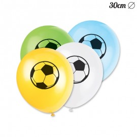 8 Globos Fútbol 30 cm