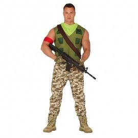Disfraz Mercenario Gamer Adulto