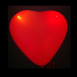 Globos Led forma Corazón