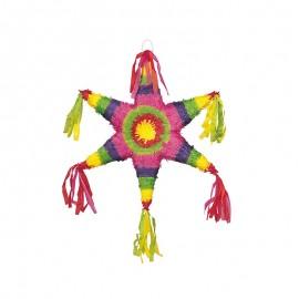 Piñata forma Estrella Mexicana