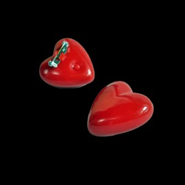 Pin Luminoso Corazón Led