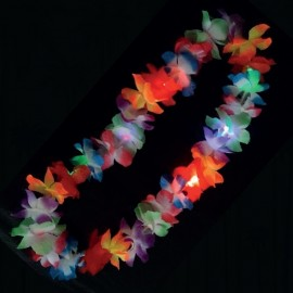 Collar Luminoso Led Hawaiano