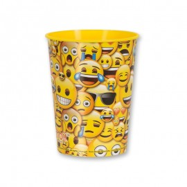 Vaso con Emoticono Sonrisa 475 ml