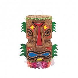Piñata para Apalear forma Tiki Polinésia